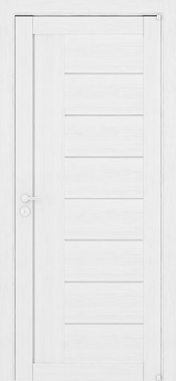 Дверь LIGHT 2110 Белый велюр