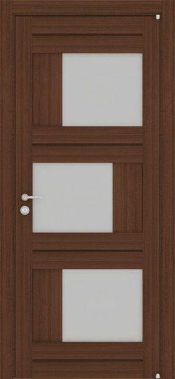 Дверь LIGHT 2181 Орех вельвет