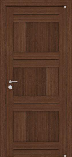 Дверь LIGHT 2180 Орех вельвет