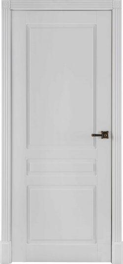 Дверь межкомнатная Прага Эмаль белая Глухая