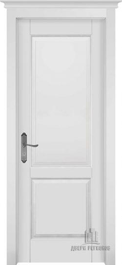 Дверь межкомнатная Европа Эмаль белая Глухая