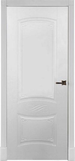 Дверь межкомнатная Марианна Эмаль белая Глухая
