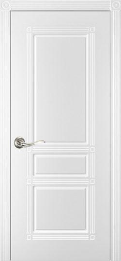 Дверь межкомнатная Троя эмаль белая
