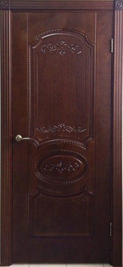 Дверь межкомнатная Муза тон каштан