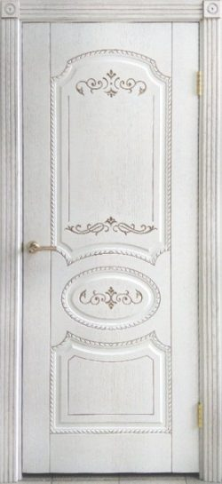 Дверь межкомнатная Муза тон капучино