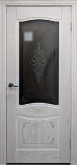 Дверь межкомнатная Дубрава 1 латте