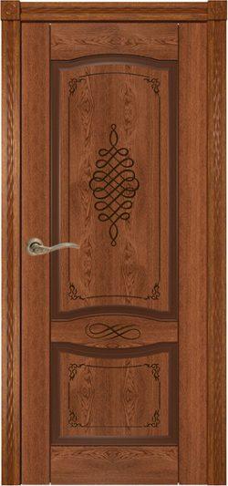 Дверь межкомнатная Дубрава коньяк