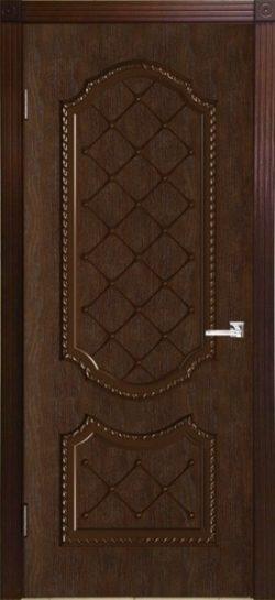 Дверь межкомнатная Экстра каштан