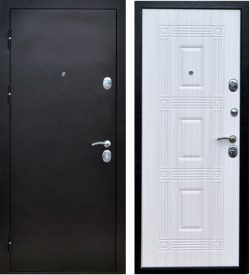 Входная дверь Леда сандал белый