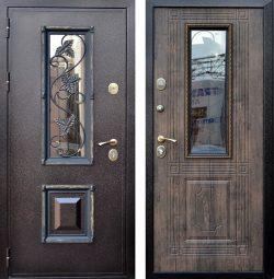 Входная дверь Ковка 1 орех