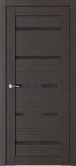 Дверь межкомнатная Q55 орех макадамия
