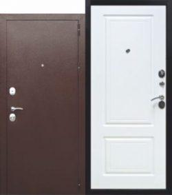 Дверь мет. 10 см Толстяк РФ медный антик Венге