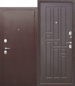 Дверь мет. Гарда 8 мм Белый Ясень/Дуб Сонома