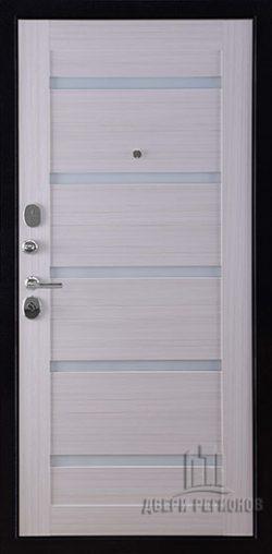 Дверь входная Президент Х7, цвет хамелеон антик, панель – президент х7 цвет сандал белый