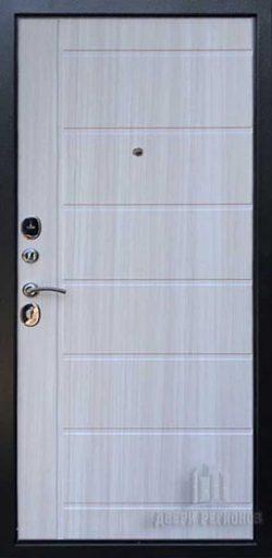 Дверь входная Галеон 2, цвет темное серебро антик, панель – галеон цвет сандал светлый